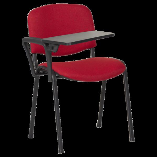 Посетителски стол Carmen 1140 LUX - червено-черен