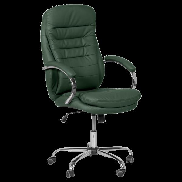 Президентски офис стол Carmen 6113 - маслено зелен