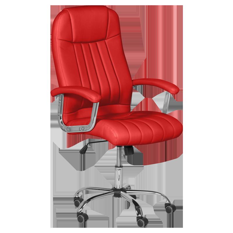 Президентски офис стол Carmen 6181 - червен