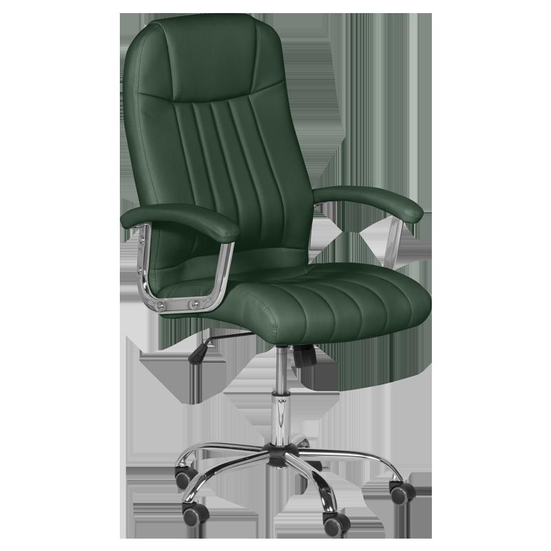 Президентски офис стол Carmen 6181 - маслено зелен
