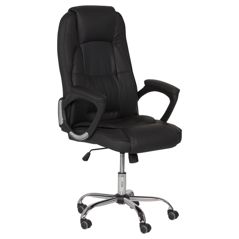 Президентски офис стол Carmen 6505 - черен LUX