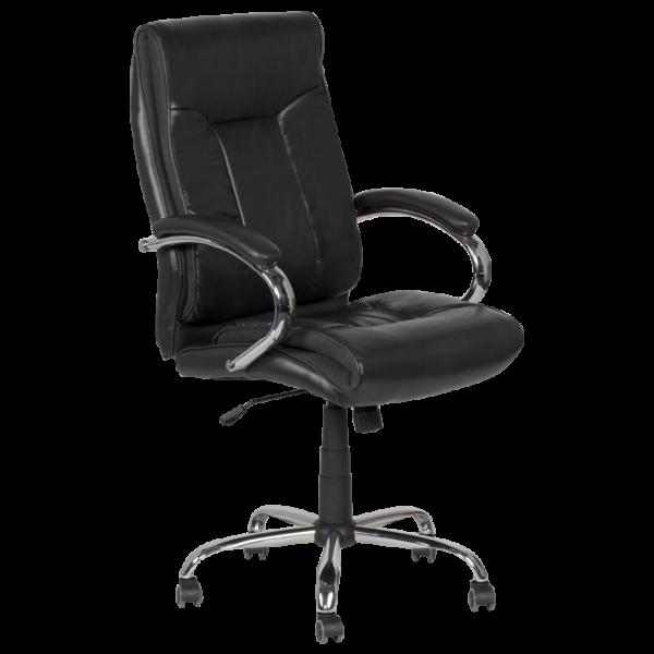 Президентски офис стол Carmen 6508 - черен LUX