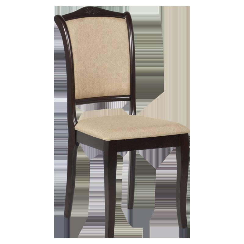 Трапезен стол LOLA - венге 2 / злато