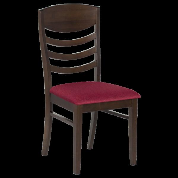 Трапезен стол MARISOL - какао / малина