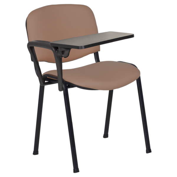Посетителски стол Carmen 1140 LUX - кафяв