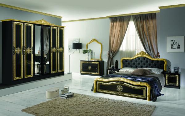 luisa nero gold