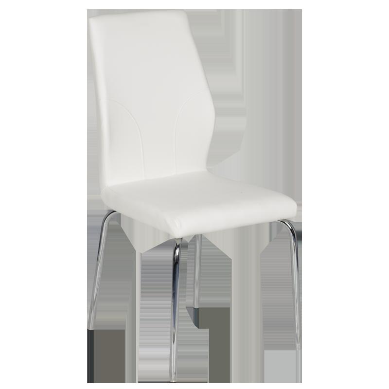 трапезен стол 313 бял
