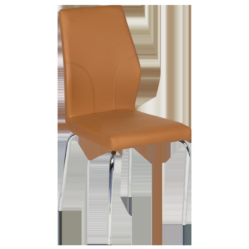 трапезен стол 313 тъмно оранжев