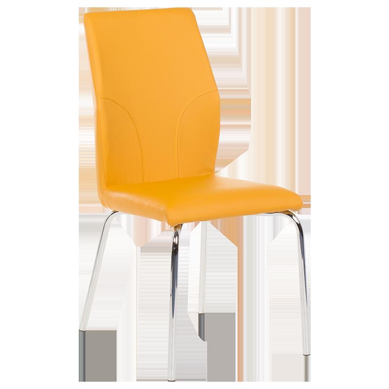 трапезен стол 313 тъмно жълт