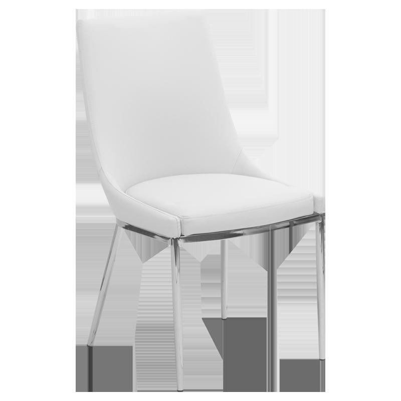 трапезен стол 322 бял