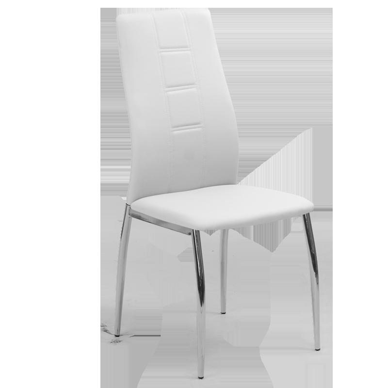 трапезен стол 324 бял