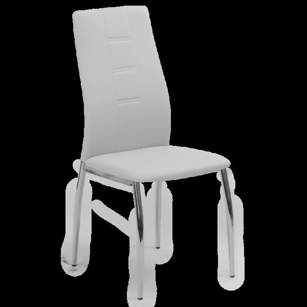 трапезен стол 324 светло сив