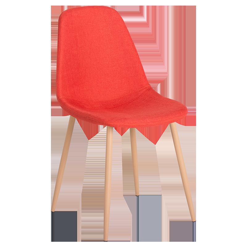 трапезен стол 511 S тъмно оранжев