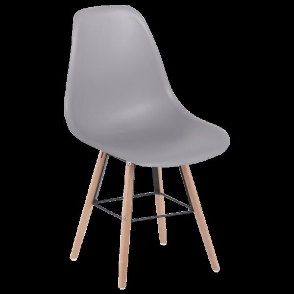 трапезен стол 9957 S сив