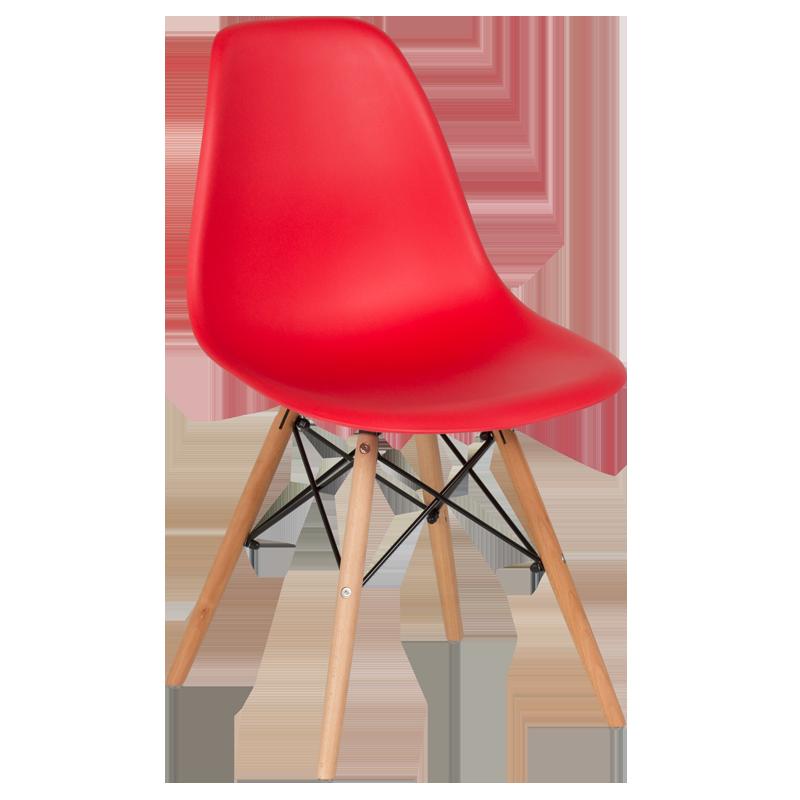 трапезен стол 9957 червен