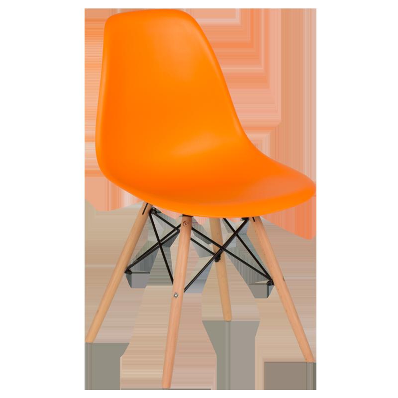 трапезен стол 9957 оранжев