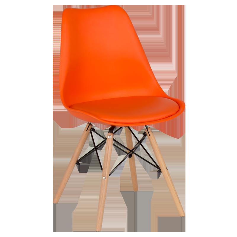 трапезен стол 9960 оранжев