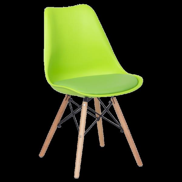 трапезен стол 9960 ярко зелен