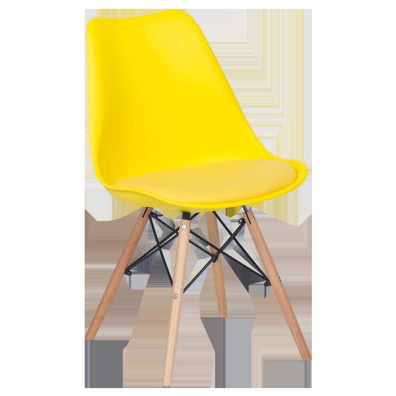 трапезен стол 9960 жълт