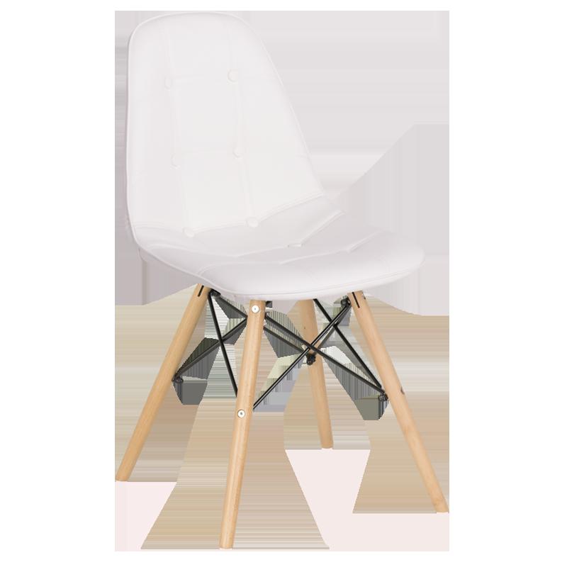 трапезен стол 9962 бял