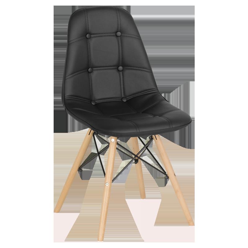 трапезен стол 9962 черен