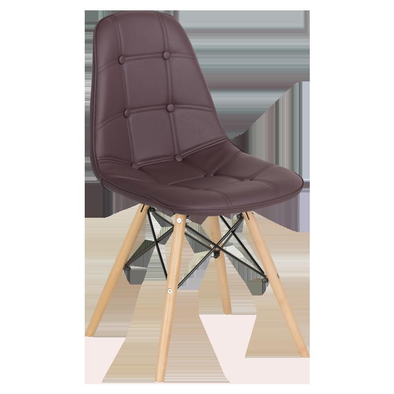 трапезен стол 9962 тъмно кафяв