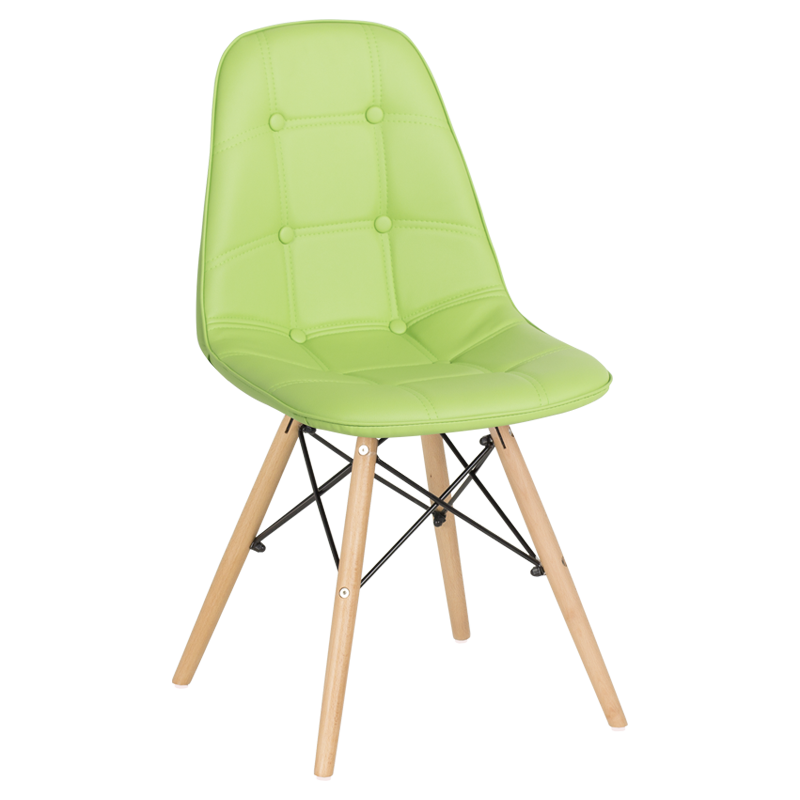 трапезен стол 9962 ярко зелен