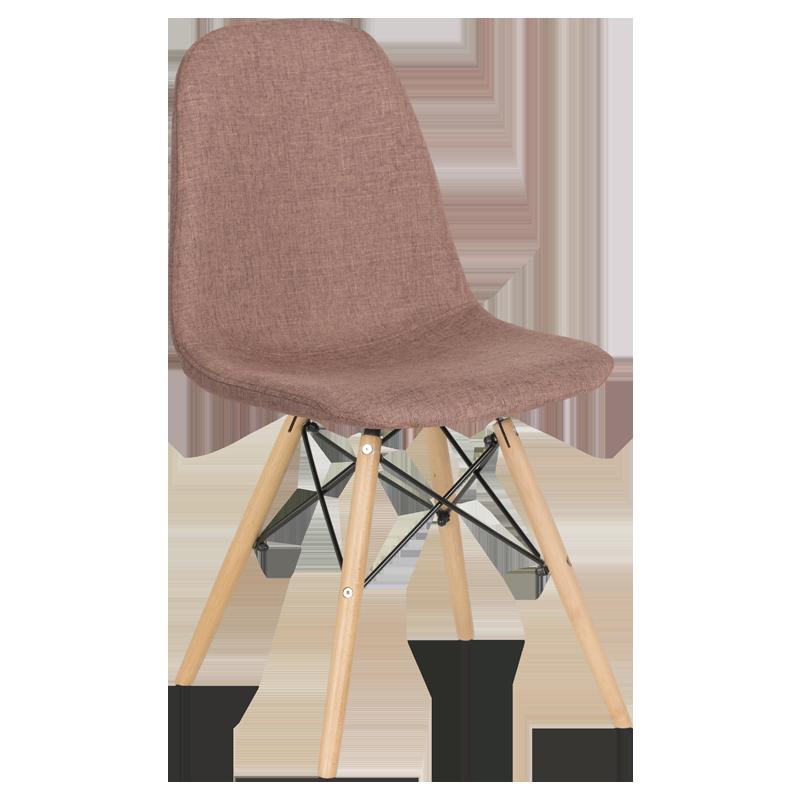 трапезен стол 9963 кафяв