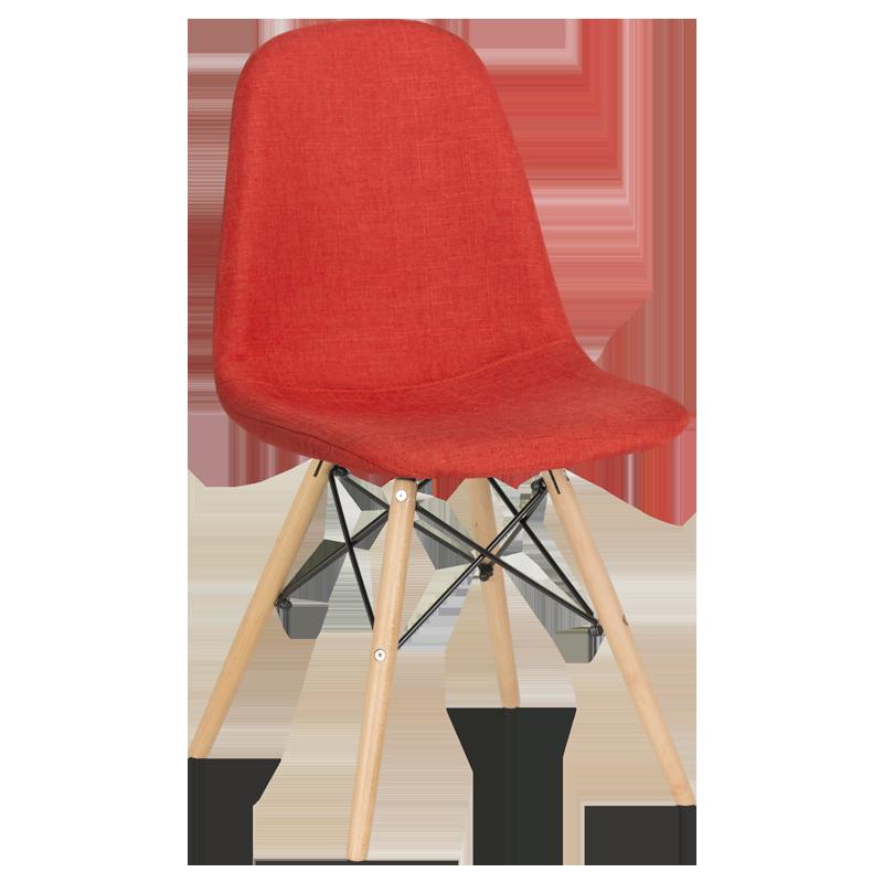 трапезен стол 9963 тъмно оранжев