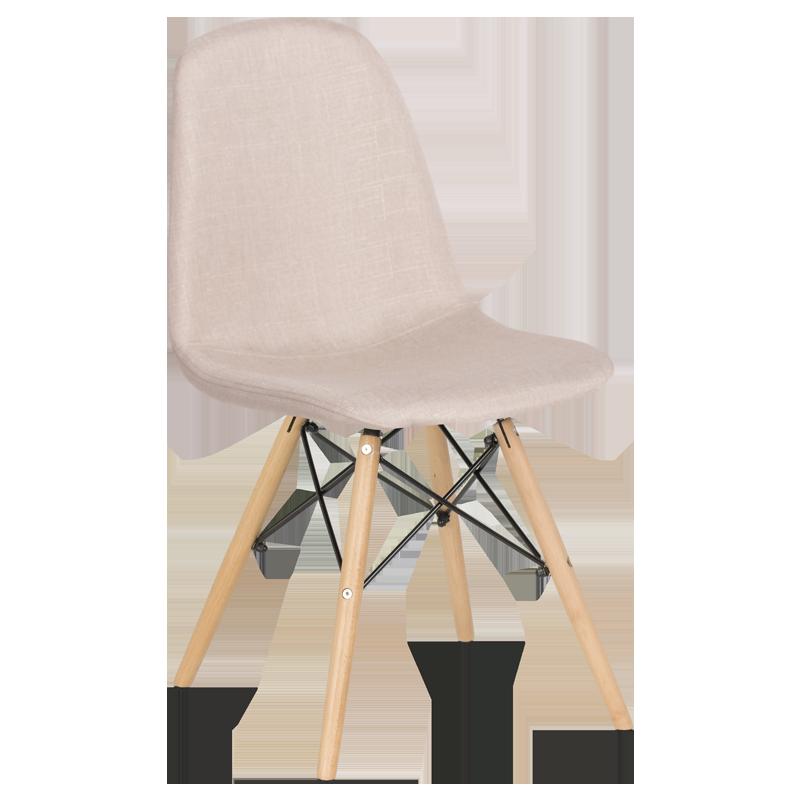 трапезен стол 9963 телесен