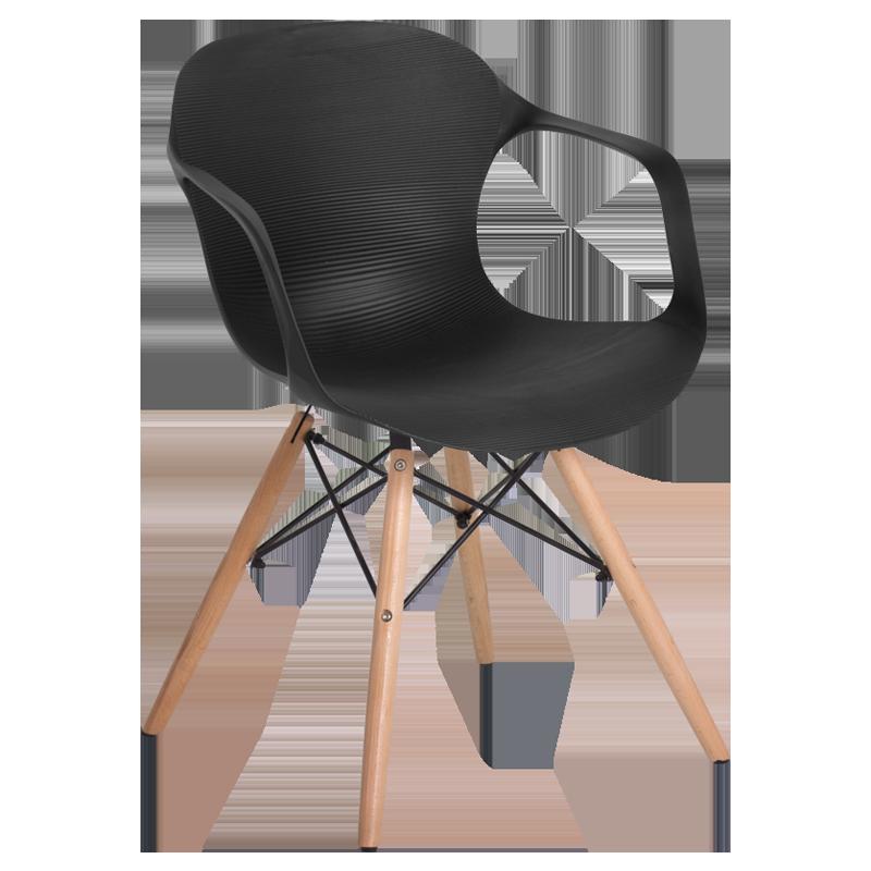трапезен стол 9964 черен