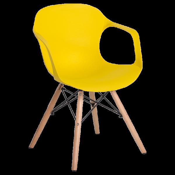 трапезен стол 9964 жълт