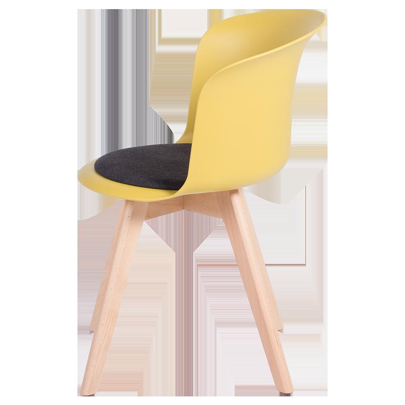 трапезен стол 9968 жълт