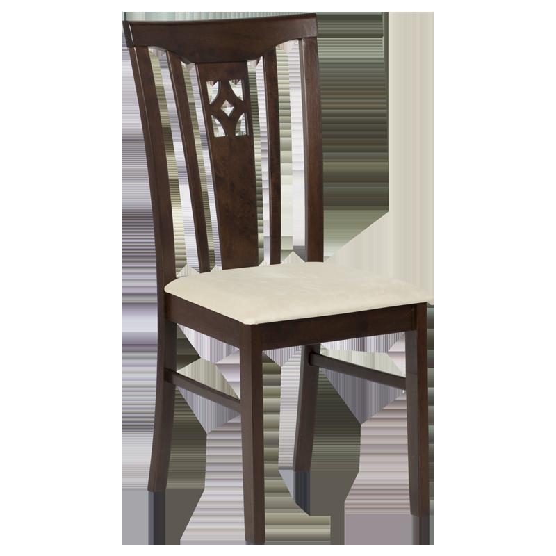 трапезен стол diego какао крем