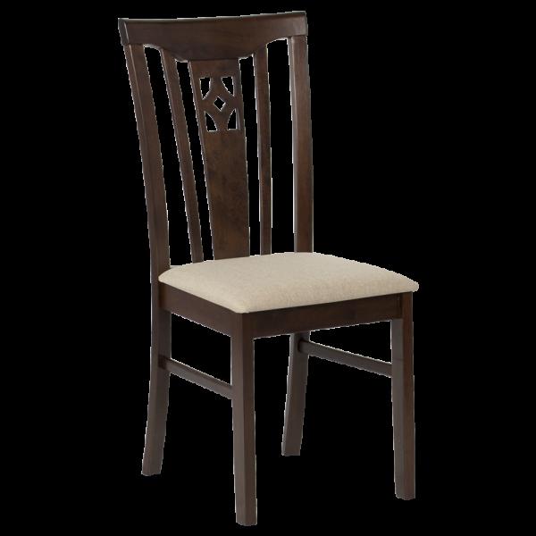 трапезен стол diego какао пясъчно кафяв