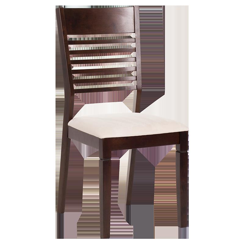 трапезен стол paola какао слонова кост