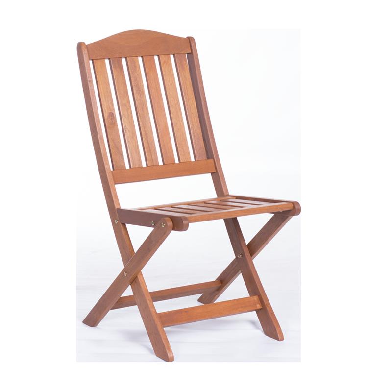 Сгъваем дървен градински стол LARS