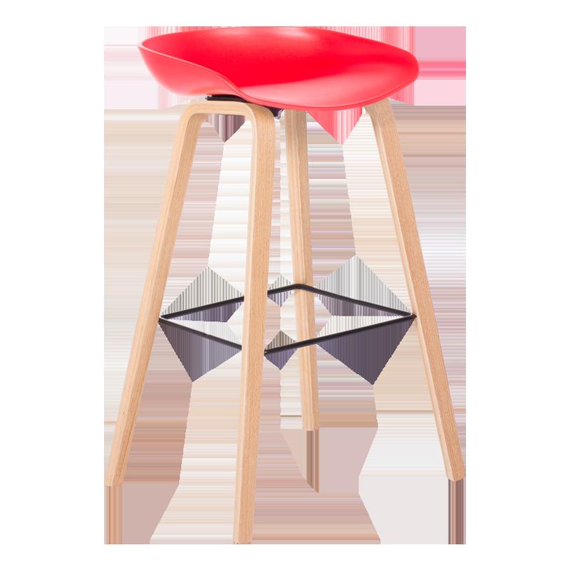 бар стол 3078 червен