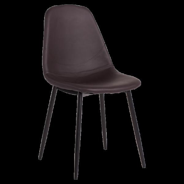 трапезен стол 327 тъмно кафяв