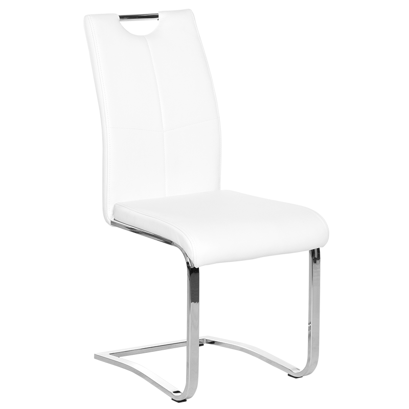трапезен стол 370-1 бял
