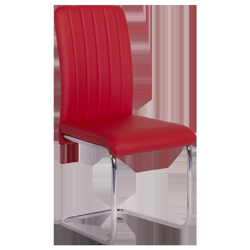 трапезен стол 372 червен