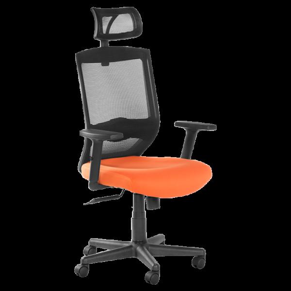 Офис стол 7518 - оранжев