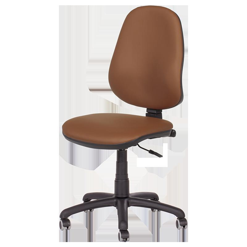 Офис стол Polo (без подлакътници) - кафяв N