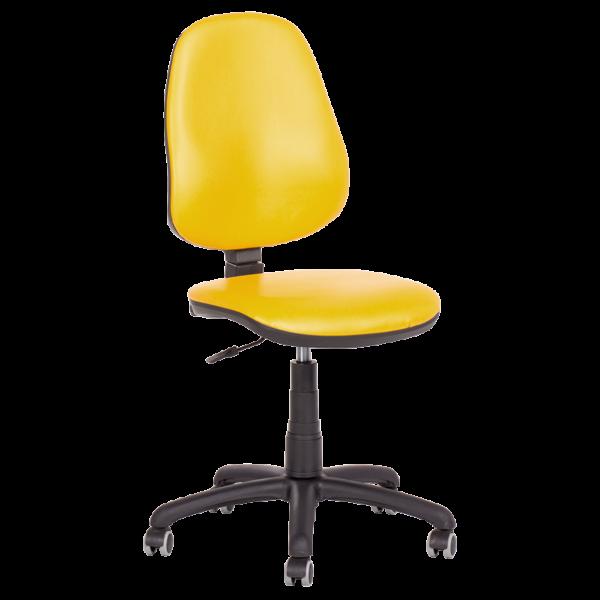 Офис стол Polo (без подлакътници) - жълт