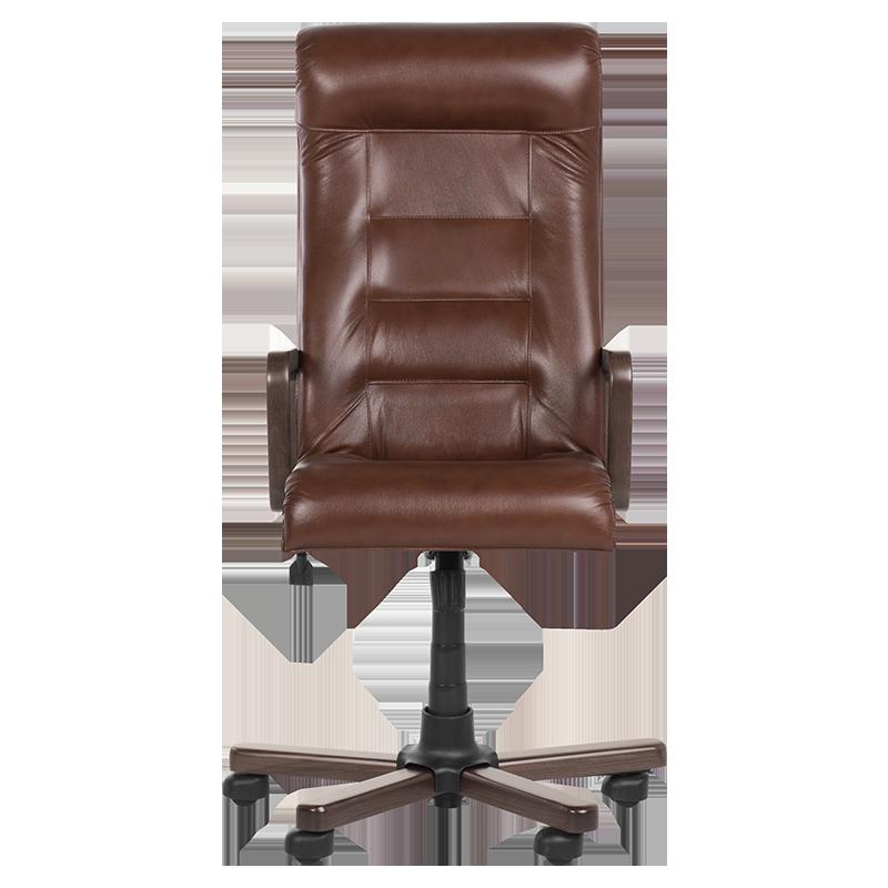 Президентски офис стол Royal wood - кафяв LUX