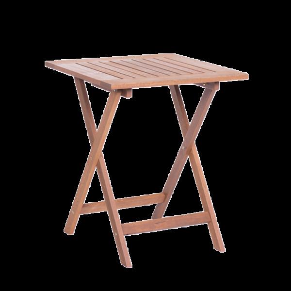 Сгъваема дървена градинска маса SILKE