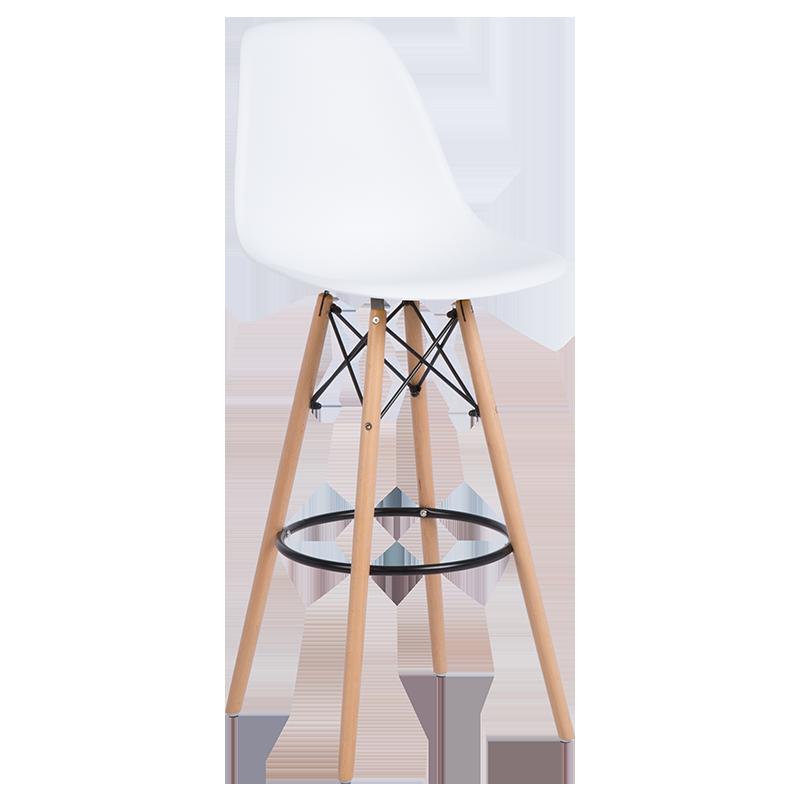 бар стол 3079 бял