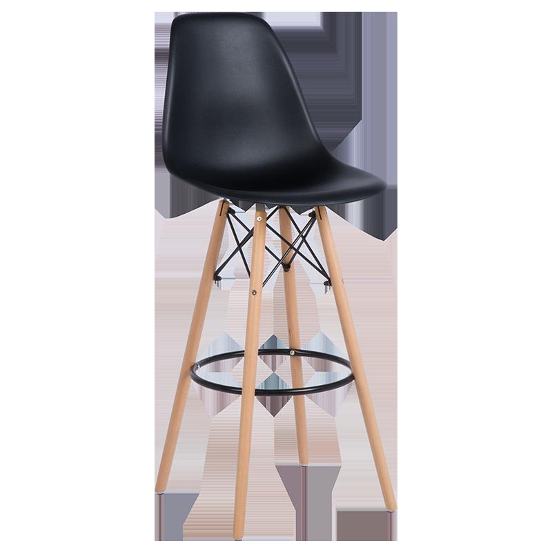 бар стол 3079 черен