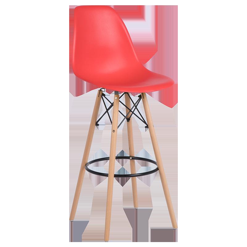 бар стол 3079 червен