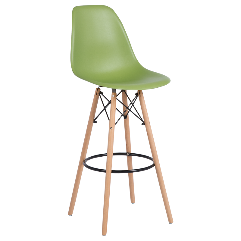 бар стол 3079 зелен